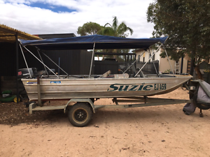 14ft boat, trailer and 30hp outboard Red Cliffs Mildura City Preview