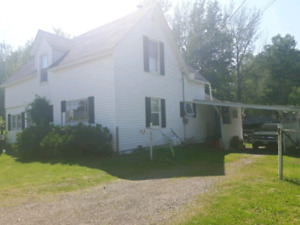 River herbert ns 4 bedroom  house and woodland