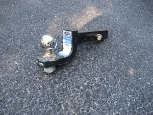 "Reese 1 1/4"" Towbar with 1 7/8"" Ball for trailer hitch."