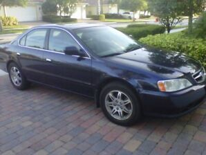 2000 Acura 3.2 TL Blue AS IS