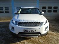 2013/62 LAND ROVER RANGE ROVER EVOQUE 2.2 ED4 PURE 2WD 5DR WHITE - HUGE SPEC!