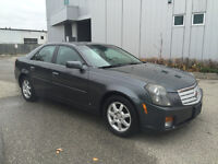 2007 CADILLAC CTS LEATHER SUNROOF ALLOYS 175KM