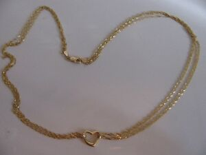 looks brand nw 10k gold multistrand necklace fina price