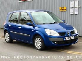 2007 RENAULT SCENIC 1.5 dCi Dynamique 5dr good history
