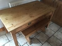 Solid Kitchen Pine Table