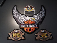 Harley Davidson Crest and HOG crests