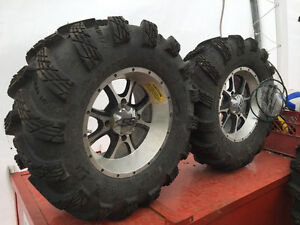Radial Outlaw ATV Tires and ITP SS Wheels For Sale