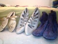 Bundle of shoes size 7 There is 5 pairs all for £10