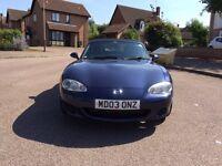 Mazda MX5 1.8 MX-5 2003 12 Months Mot