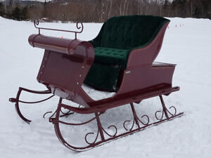 Sleigh Voiture Robert pour attelage cheval