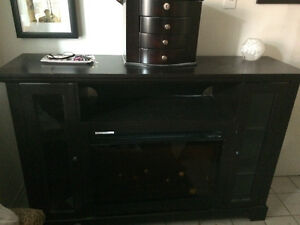 Fireplace Media Stand