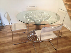 1970s Vintage Dining Table-Table a Manger Retro 1970