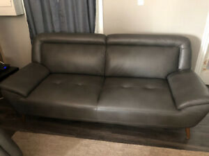 Couch and half chair