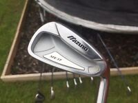 Mizuno MX17 irons and Driver