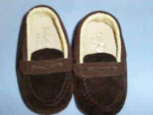 Brown Penny Loafer - Beba Bean size 3-6 mo
