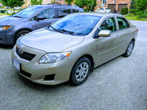 CERTIFIED + SNOW TIRES + RIMS + HITCH 2010 Toyota Corolla CE