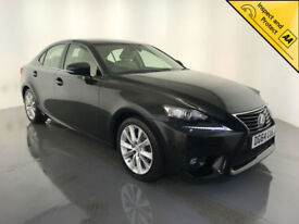 2014 64 LEXUS IS 300H EXECUTIVE EDN AUTO HYBRID 1 OWNER SERVICE HISTORY FINANCE