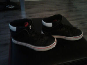 Selling boys size 13 high top shoes.