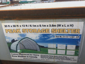 20'x30'x12' portable building shelter