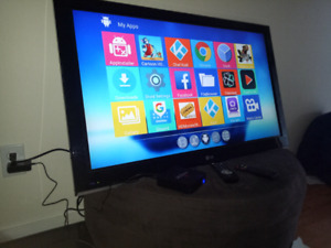 TV with Android TV Box