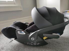 Cybex Cloud Z i-Size Group 0+ Baby Car Seat, Deep Black, RRP £225