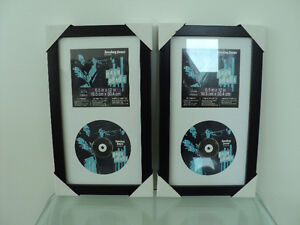 CD DISPLAY CASE BY STUDIO DÉCOR®  BLACK FRAMES