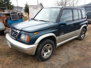 1996 Suzuki = Great Reliable Winter 4x4 Vehicle (33+/mpg)