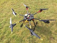 Tarot 680pro hexacopter (may swap for civic type r ep3 parts)