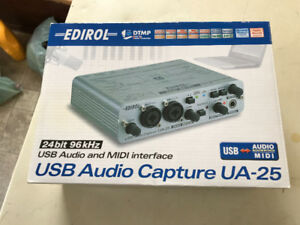 Edirol USB Audio Capture