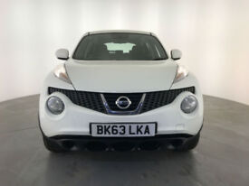 2013 63 NISSAN JUKE VISIA 5 DOOR HATCHBACK 1 OWNER SERVICE HISTORY FINANCE PX
