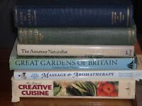 Books for the Gardener and Cook