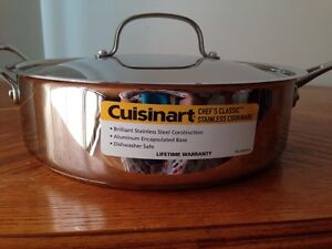 Stainless Steel 4 qt. Sauce Pan