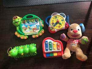 Assorted tot toy electronics
