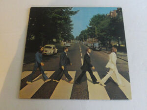 ALBUM VINYLE DES BEATTLES ABBEY ROAD