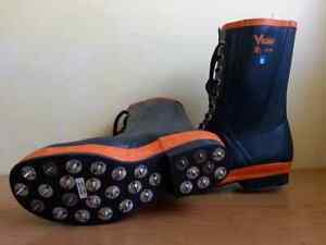 New Viking spiked rubber boots