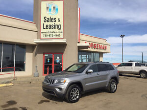 2015 Jeep Grand Cherokee LIMITED Heated/Leather $31987