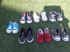 Converse and vans bundle infant size 4 - 5.5