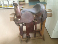 "Looking for Roping saddle 16""seat"