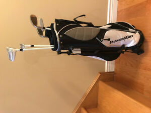 Junior Golf Clubs with Kickstand Pro-style bag