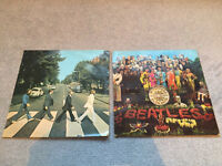 2 old Beatles records