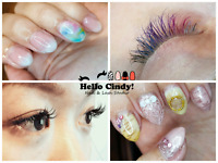 Gel Nails or Eyelash Extensions