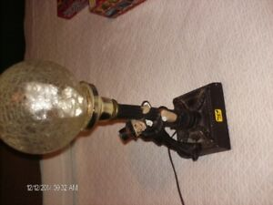 ANTIQUE WORKING MUSICAL STREET LAMP LIGHT  18 INCHES