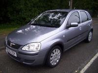 2003 (53 reg) Vauxhall Corsa 1.2 i 16v Active 5dr
