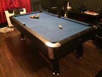 Bce black cat 7'x4' pool table