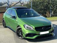 2016 Mercedes A45 AMG + Huge Spec + Elbaite GREEN + Bahia Brown Interior +o