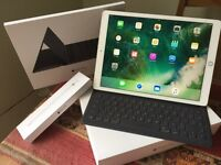 "iPad Pro 12.9"" 128gb gold+Apple Pencil and Smart Keyboard"