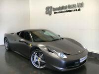 2012 Ferrari 458 4.5 italia DCT *24K Full Ferrari History* 1YR FERRARI WARRANTY
