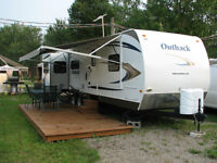 roulotte Outback 34'
