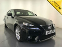 2015 LEXUS IS300H EXECUTIVE EDITION AUTOMATIC SALOON 1 OWNER SERVICE HISTORY