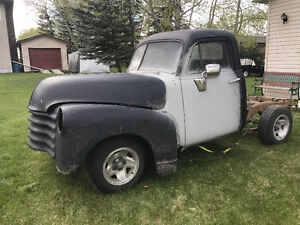 1951 Chevy Truck on S-10 Chassis****WILL TRADE FOR MOTORBIKE****